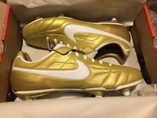 Nike Air Legend Ronaldinho *Tiempo Gold R10 soccer cleats boots football* NEW