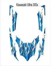 KAWASAKI ultra 300 x jetski Jet Ski Graphic Kit Wrap pwc decals stickers 6