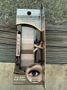 Physicians Formula Shimmer Strips Custom Eye Enhancing Shadow Classic Nudes 7871