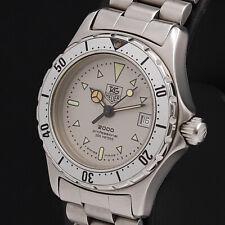 TAG HEUER Watch 2000 972.008 Silver Gray  Quartz St.Steel Date   T3796