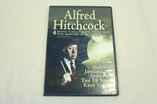 Digiview Entertainment MV-12C Alfred Hitchcock Films Movies DVD Set Of 4 2013
