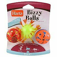 3 X Hartz Cat Toy Bizzy Balls 3pk