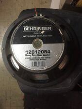 """Behringer 12B120B4 12"""" Speaker 8ohms"""