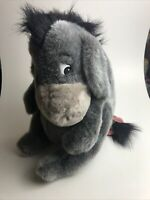 "Large 15"" Plush Eeyore Walt Disney World Removable Tail RARE Winnie the Pooh VTG"