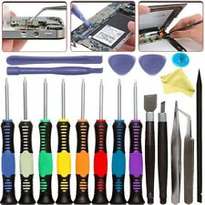 20 in 1 Mobile Repair Kit Phone Screwdriver Tool For IPhone IPad Opening Set UK