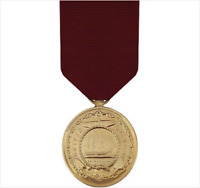 GENUINE U.S. FULL SIZE MEDAL: NAVY GOOD CONDUCT - 24K GOLD PLATED