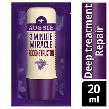Aussie 3 Minute Miracle Reconstructor Deep Conditioner for Damaged Hair - 20ml