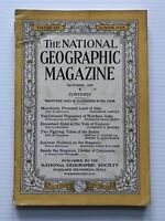 National Geographic Magazine - October 1929 - Manchuria, Promise Land Of Asia