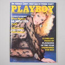 PLAYBOY March 1985 Shannon Tweed/PMOY/Carl Lewis/60 Minutes/Bob Giraldi/Feminist