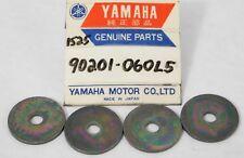 4 Pack of NOS Genuine YAMAHA Motorcycle ATV Quad WASHER Parts OEM 90201-060L5