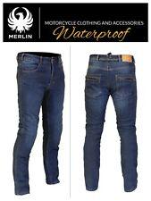 MERLIN Route One Mason Motorcycle Denim Jeans Reinforced Reissa Waterproof Pants