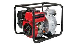 212cc Gasoline Engine Semi-Trash Water Pump 290 GPM 3in Transfer Backup Powerful