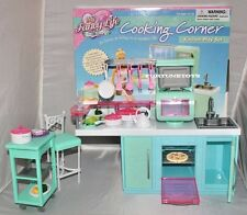 FANCY Life DOLL HOUSE FURNITURE SIZE COOKING CORNER Kitchen PLAYSET FOR BARBIE