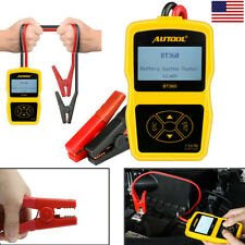 AUTOOL 12V Car Battery Tester Analyser Cranking Charging System Test CCA100-1400
