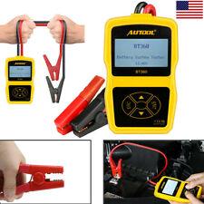 12V Car Battery Tester Analyzer Cranking Charging Test CCA100-2400 220Ah USA