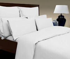 KING BED SIZE EGYPTIAN COTTON 400 THREAD COUNT 12'' DEEP FITTED SHEET WHITE