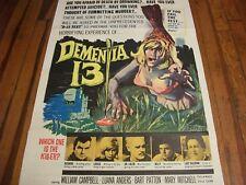 Dementia 13   poster  1963