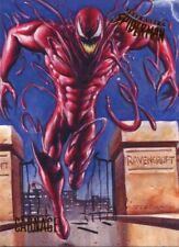 Spiderman Fleer Ultra 2017 Base Card #41 Carnage