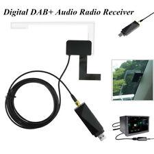 Universal Car Digital DAB+ Audio Radio Tuner System Receiver Antenna USB Adapter
