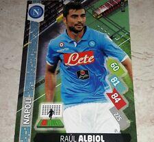 CARD ADRENALYN 2014/15  CALCIATORI PANINI NAPOLI ALBIOL CALCIO FOOTBALL