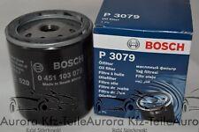 Bosch Ölfilter 0 451 103 079 DAEWOO, CITROEN, OPEL, FORD, PEUGEOT, GMC, CHRYSLER