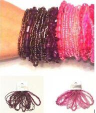 Modeschmuck-Armbänder aus Acryl Dehnbare Perlen