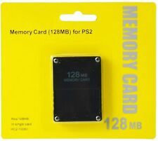 For Sony PlayStation 2 High Speed 128 MB Memory Card PS2- Brand New