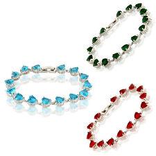 Modeschmuck-Armbänder mit Cubic Zirkonia-Hauptstein für Damen
