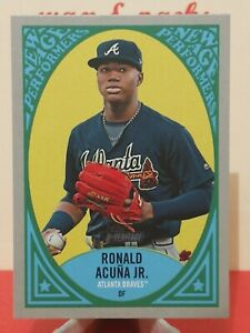 2019 Topps New Age Performers NAP-17 Ronald Acuna Jr. Atlanta Braves