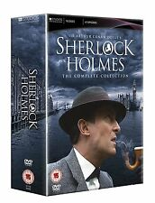 Sherlock Holmes The Complete Collection DVD Doyle's (16 DISCS 41 EPISODES) #C1