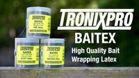 Tronix Pro BAITEX High Quality Bait Wrapping Latex / Elastic - Bulk 300m Spools
