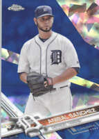 ANIBAL SANCHEZ 2017 TOPPS CHROME SAPPHIRE EDITION #83 ONLY 250 MADE