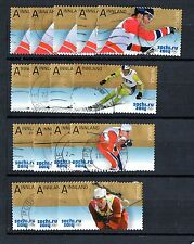 NORWEGIAN : 2014 SOCHI OLYMPICS  Fine Used Set ( Four Values )