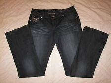 Women's Grace in LA Low Rise Stretch Embellished Jeans - 9/29