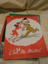 SOUVENIR PROGRAM CALL ME MISTER BETTY GERRETT 1946