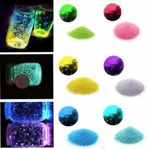 1PCs Luminous Aquarium Glowing Sand Fish Tank Decoration Stone Sand