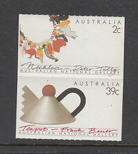 Australia 1988 Australian Crafts Mint unhinged booklet pr stamps.Necklace Teapot