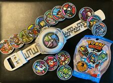 Series 1 Yo-kai Watch, Medals, and Unopened Medal Pack