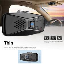 Sun Visor Clip Bluetooth Wireless Handsfree Car Speaker Kit for Dual Phone Dirve