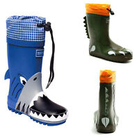 Regatta Kids Mudplay Junior Wellies 3D Animal Waterproof Vegan Wellington Boots