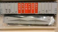 Walthers HO Brachs Candy Airslide Covered Hopper Kit, NIB