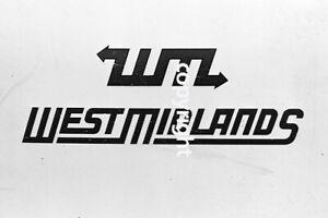 Bus Photo - West Midlands PTE fleetname