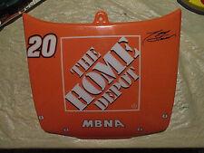 NASCAR #20 TONY STEWART THE HOME DEPOT AUTOGRAPHED STOCK CAR,REPLICA HOOD COVER,