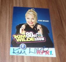 Kim Wilde *Kids in America, original signed Autogrammkarte/Card in 10x15 cm *!!*
