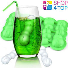 CATERPILLAR BUG WORM SHAPE ICE CUBE TRAY JELLY MOULD FUNNY PARTY NOVELTY GIFTS