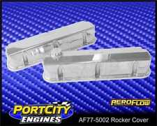 Aeroflow Alloy Fabricated Rocker Covers Ford V8 289 302 351 Windsor AF77-5002