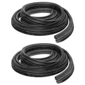 Door Seal Weatherstrip Kit for 99-11 Ford F250 F350 99-07 F450 F550 Pickup PAIR