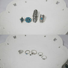 Alloy Oval Retro Costume Rings