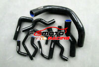 Silicone Heater Hose Kit For Nissan Silvia S13 S14 S15 200SX 240SX SR20DET BLACK
