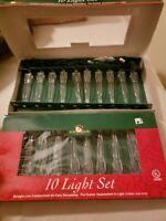 New In Box 2 Kurt S. Adler 10 Light Sets
